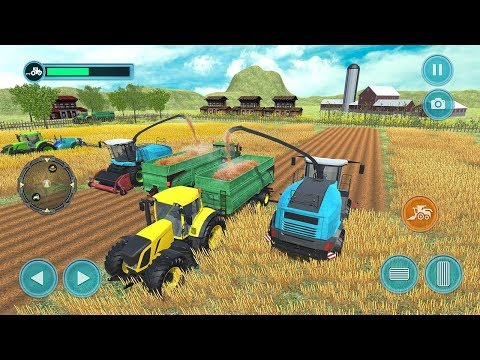 Real Farm Story - Tractor Farming Simulator 2018 (By Dolphin Games) Android Gameplay HD