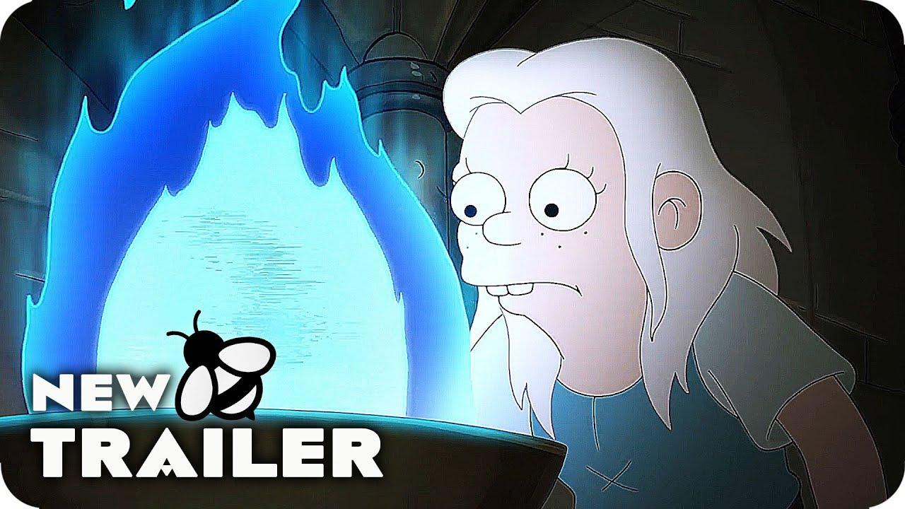 DISENCHANTMENT Season 2 Release Date Trailer (2019) Netflix Series