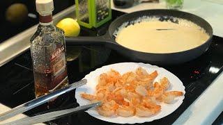 Как приготовить КРЕВЕТКИ . Закуски к Пиву . Креветки в чесночном маринаде . Как жарить креветки