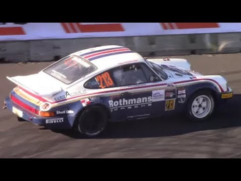 Rothmans Special Porsche 911 SC/RS rare sound in action