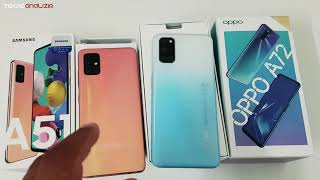 OPPO A72-VS-SAMSUNG Galaxy A51( Aradaki Fiyat farkına değermi ?)