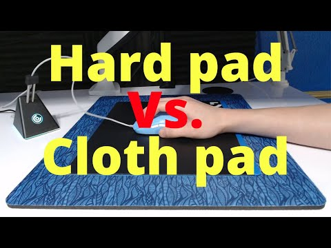 Which Mouse Pad Is Better For Aiming? (Hard Pad Vs. Cloth Pad)