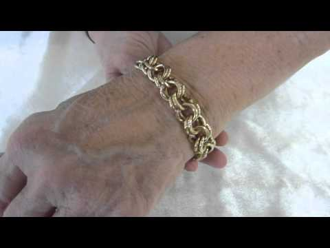 61.52g 14K Yellow Gold  Bracelet