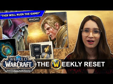 Why BfA's Release Date Should Worry You, Azerite Armor Exposed & WARFRONTS! World of Warcraft News