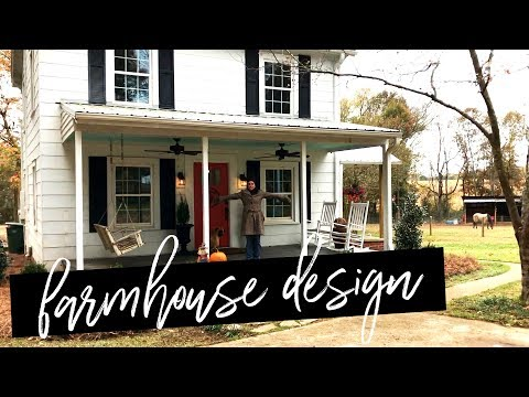 DIY FARMOUSE LANDSCAPING MAKEOVER!