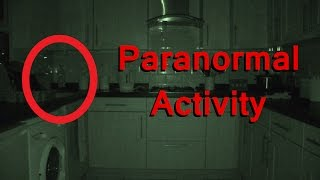 Ghost  In My Kitchen - Real Paranormal Activity Part 28