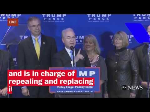Thumbnail: Who is Tom Price?