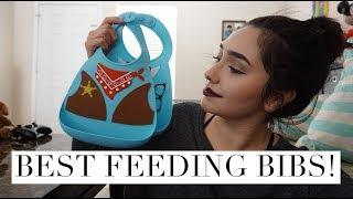 BEST FEEDING BIBS: NUBY 3D SILICONE FEEDING BIB