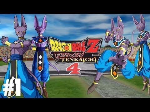 Dragon Ball Budokai Tenkaichi 4 - Tập 1 - Beerus Đánh Đại Hội Võ Thuật  Thiên Hạ Đệ Nhất   Big Bang