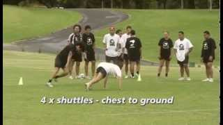 NZRL Fundamentals - Conditioning Drills