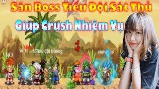 Ngọc Rồng Online - Hạ gục Crush bằng cách làm giúp nhiệm vụ Tiểu Đội Sát Thủ trong 1 giờ
