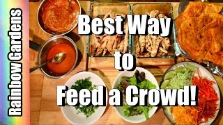 The Best Way to Feed a Crowd! It Makes Everyone Happy  - Taco Bar | KITCHEN
