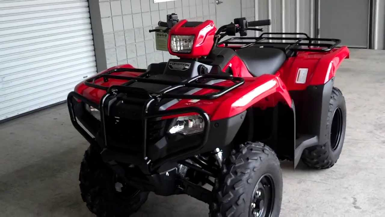 2014 Foreman ES 500 SALE at Honda of Chattanooga TN / TRX500FE2E ...