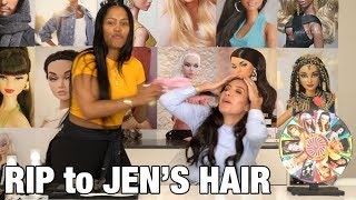 JEN ATKIN HAS ME SWEATING FOR 20 MINUTES 😓 | MAKEUPSHAYLA