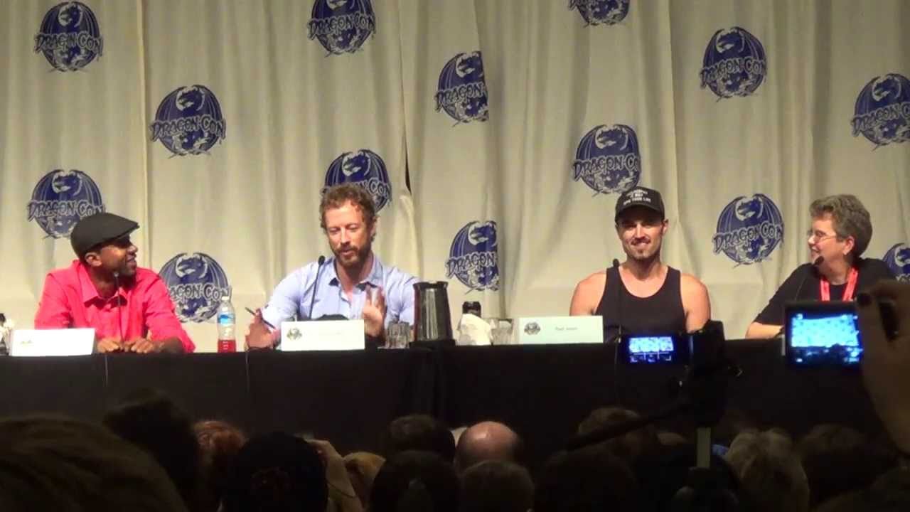Lost Girl Panel Dragon Con 2013 Paul Amos, Kris Holden-Reid, K.C. Collins 2 of 4