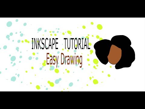Inkscape Tuto: Trace An Image, Afro Hair Svg, Free Svg
