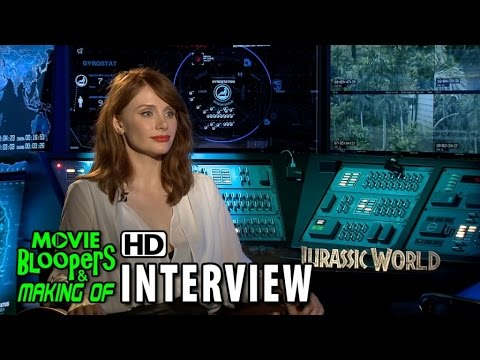 Jurassic World (2015) Official Movie Interview - Bryce Dallas Howard
