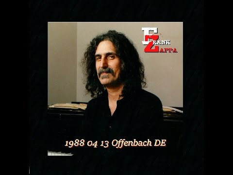 Frank Zappa 1988-04-13 Offenbach, Germany (concert)