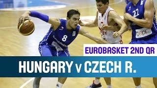 Hungary v Czech Republic - Highlights - 2nd Qualifying Round - EuroBasket 2015