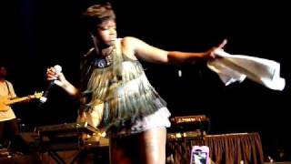 Fantasia, Live 2010 Jackson MS ~ When I See You