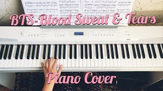 BTS Blood Sweat Tears Piano Cover
