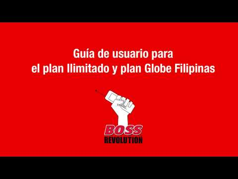 How to create and renew an Unlimited and Globe Philippines Plan -Spanish