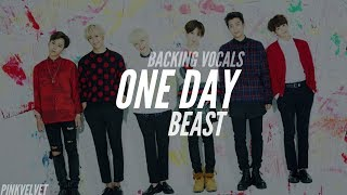 [Backing/Hidden Vocals] Beast (비스트) - One Day (Japanese Version) | PinkVelvet