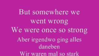 Demi Lovato - Don't forget (lyrics and german translation)