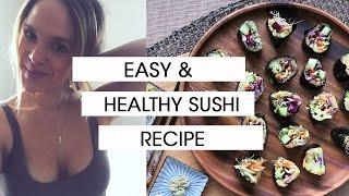 Japanese Sweet Potato Sushi | Easy Healthy Recipe