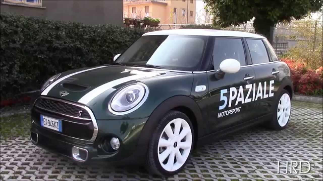 test drive review 2015 mini cooper sd 5 doors prova su strada e recensione mini 5 porte. Black Bedroom Furniture Sets. Home Design Ideas