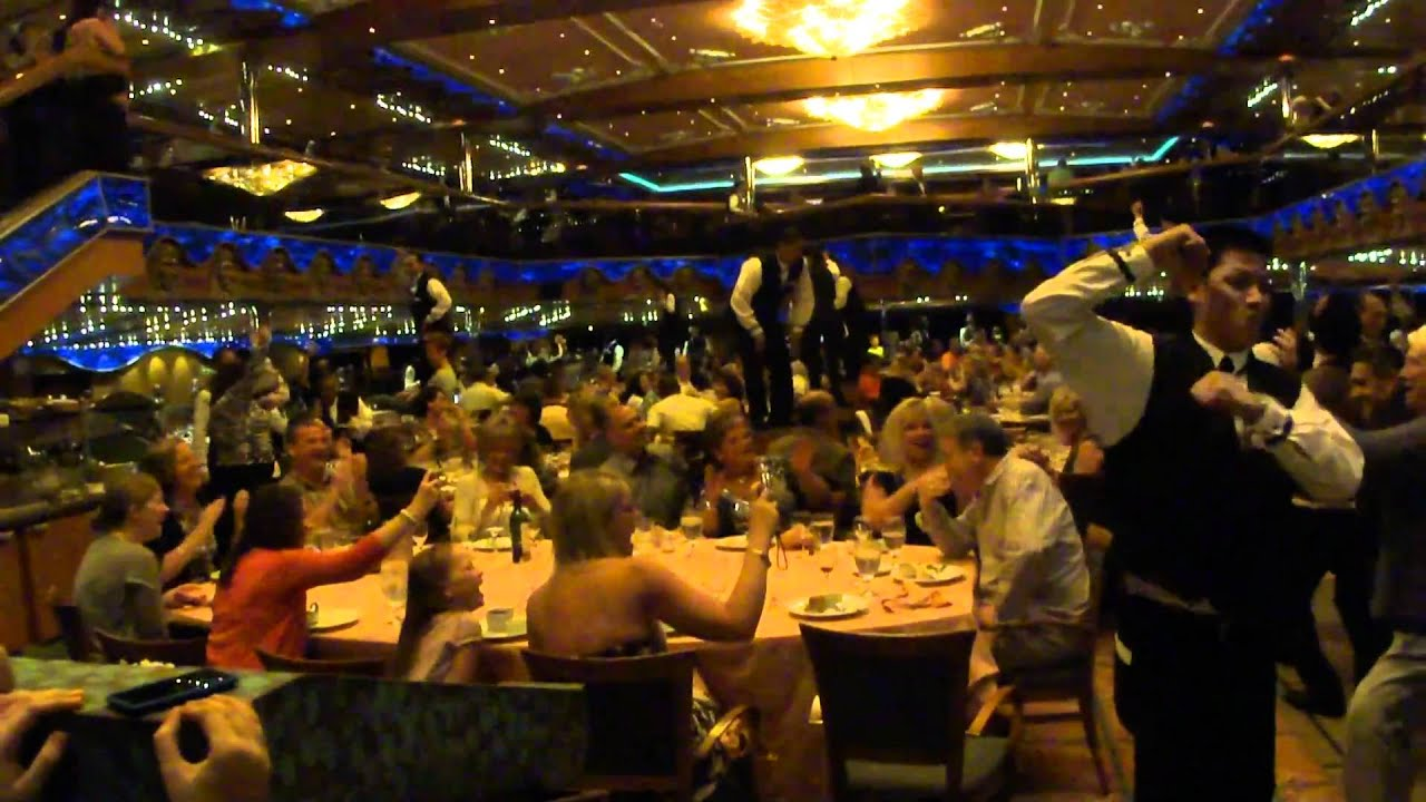 Carnival Cruise Dinner Song  YouTube