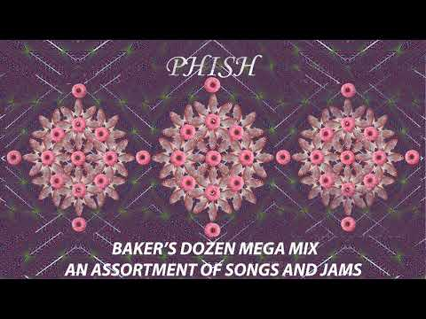 Phish Bakers Dozen Mega Mix