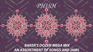 Phish Baker's Dozen Mega Mix