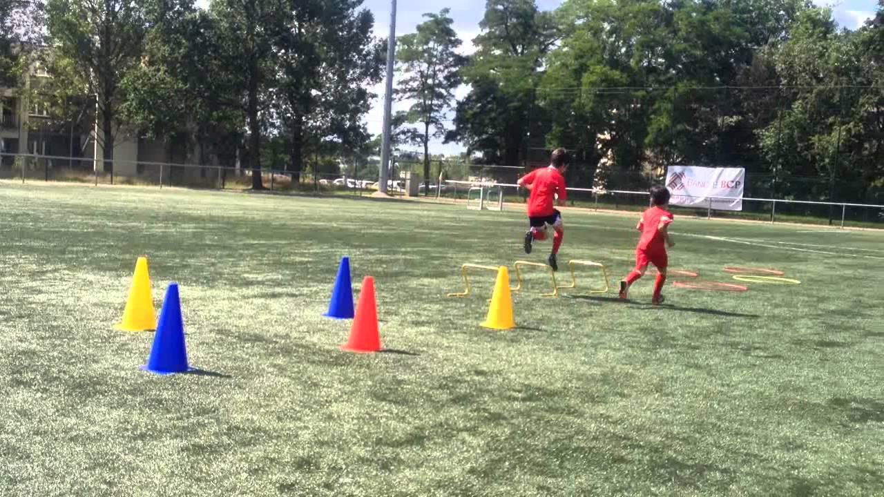 Football Klinik Academy Luxembourg - Football & SAQ Training Session