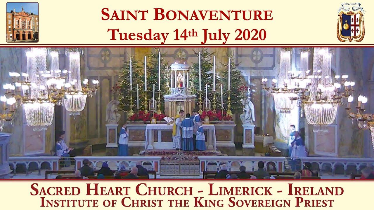 Tuesday 14th July: Saint Bonaventure