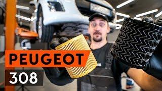 Hvordan bytte motorolje og oljefilter på PEUGEOT 308 1 T7 (4A_, 4C_) [BRUKSANVISNING AUTODOC]