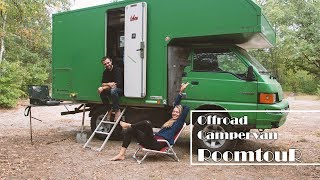 [ROOMTOUR 4x4 Offroad Campervan]    //  6 qm² diy-tinyhouse-on-wheels