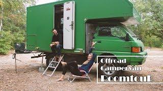 [ROOMTOUR 4x4 Offroad Campervan]    //  6 qm² Selbstbau-Traum-Zuhause auf Rädern