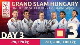 Grand Slam Hungary 2020 - Day 3: Tatami 3