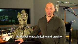 GUARDIANS OF THE GALAXY - HD Teaser: Vin Diesel spricht Groot