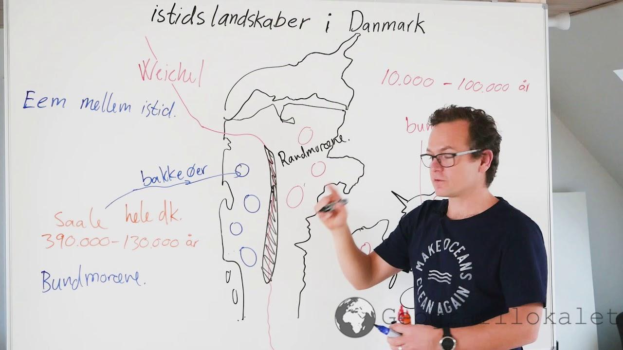 Istider og landskabet i Danmark