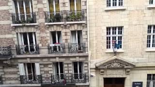 Вид из окна отеля. Париж