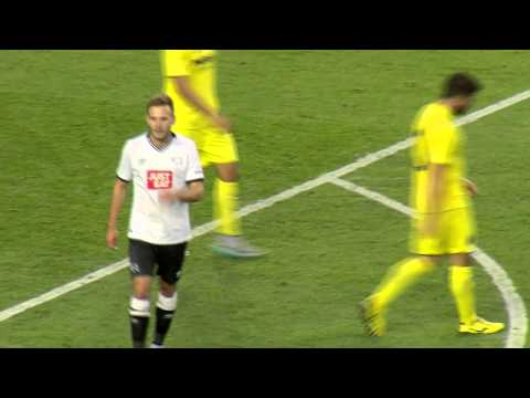 DERBY COUNTY Vs VILLARREAL | Andreas Weimann Goal