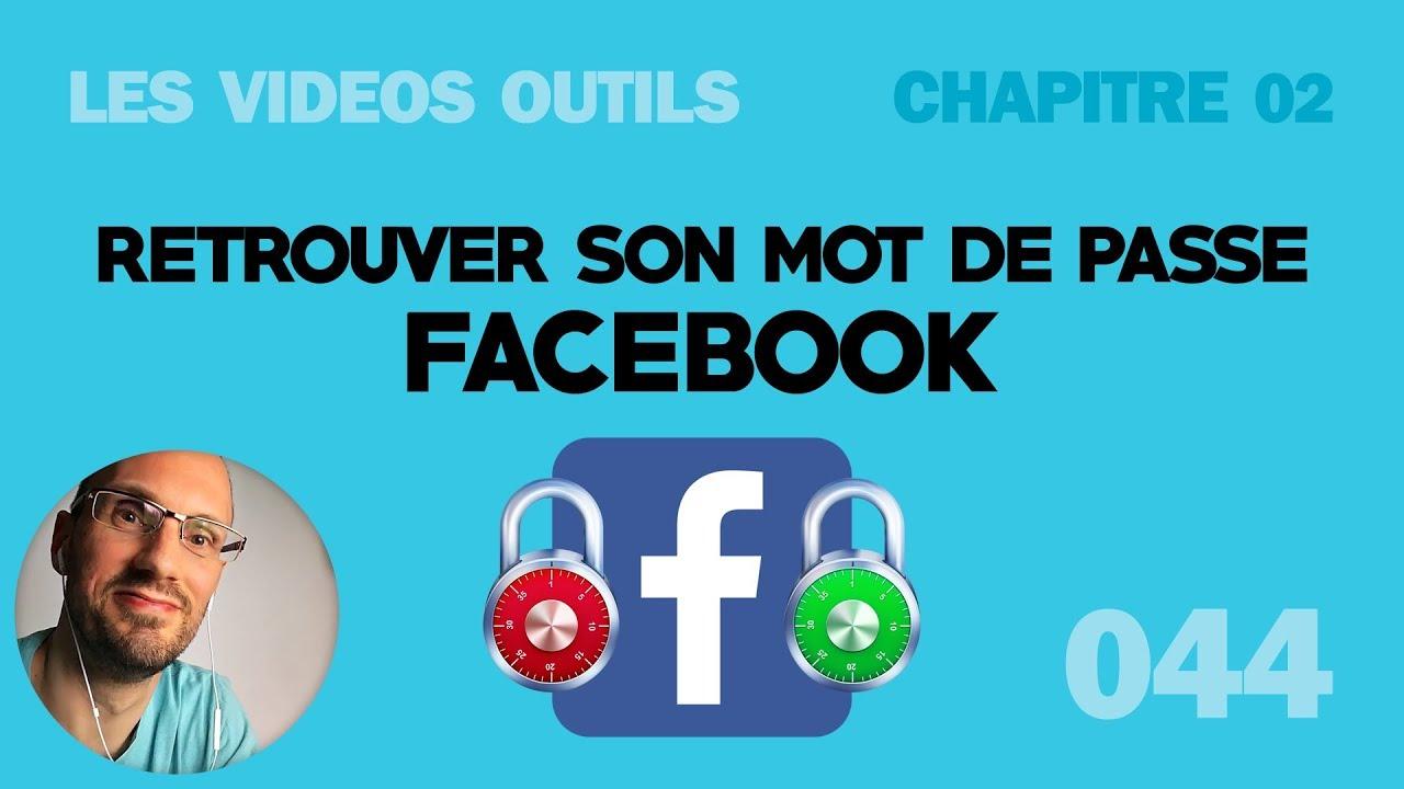 Retrouver Mon Mot De Passe Facebook Perdu 2018 Youtube