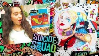 DIBUJO A HARLEY QUINN CON COLORES MAPITA♡MAPITA CHALLENGE Harley Quinn Drawing