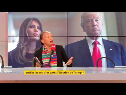 Christiane Taubira sur l'élection de Donald Trump