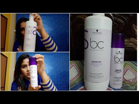 Best SHAMPOO and CONDITIONER for chemically treated hair/SCHWARZKOPF shampoo and conditioner review