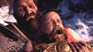 vuclip God of War PS4 - All Baldur Boss Fights