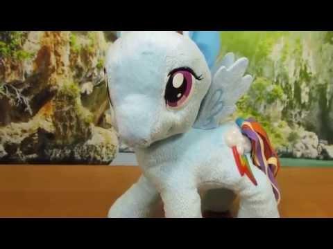 My Litttle Pony - Rainbow Dash Cutie Light Up Plush - Hasbro
