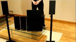 KEF T Series T105 5.1 Speaker package review by www.avland.co.uk